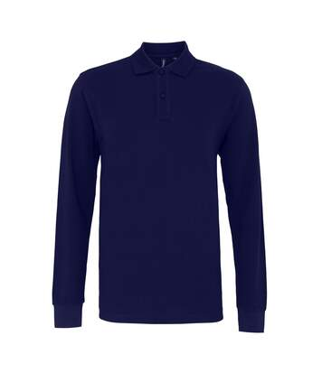 Asquith & Fox Mens Classic Fit Long Sleeved Polo Shirt (Navy) - UTRW4811