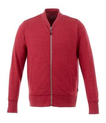 Slazenger Mens Stony Track Jacket (Heather Red) - UTPF1770