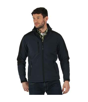 Regatta Mens Hydroforce Soft Shell Jacket (Seal Grey/Black) - UTPC3292