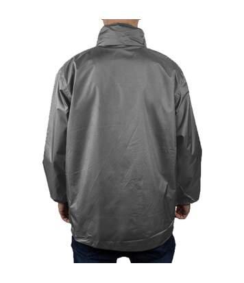 Result Mens Core Midweight Waterproof Windproof Jacket (Steel Grey) - UTBC899