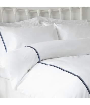 Belledorm - Housse De Couette Brunswick (Blanc / bleu) - UTBM242