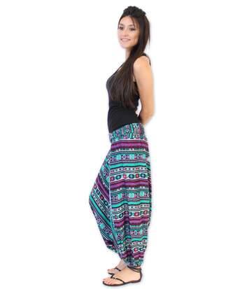 Pantalon Sarouel Vicky Coton Du Monde