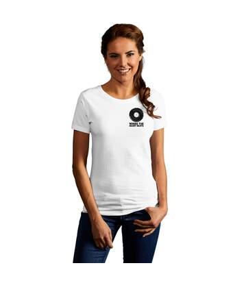 Print promodoro heart beats T-shirt premium Femmes