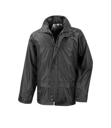 Result Mens Core Stormdri Rain Over Jacket (Black) - UTBC2055