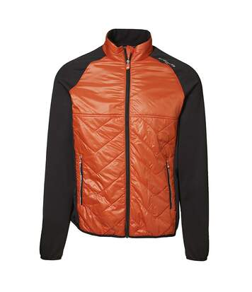 ID Mens Cool Down Lightlined Jacket (Orange) - UTID374