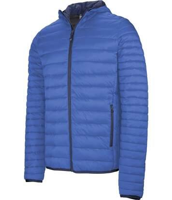 Doudoune légère à capuche - K6110 - bleu roi - Homme