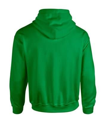 Gildan Heavy Blend Adult Unisex Hooded Sweatshirt / Hoodie (Antique Cherry Red) - UTBC468
