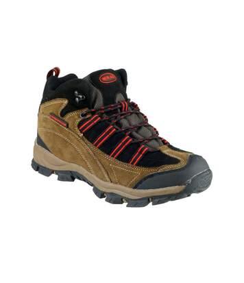 Mirak Kentucky - Chaussures Montantes De Marche - Femme (Marron/Rouge) (38 EUR) - UTFS2007