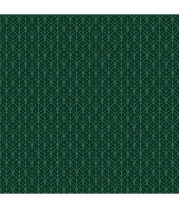 Atmosphera - Parure de lit 2 Personnes 240 x 220 cm Housse de couette avec 2 taies Imprimé Foret Art