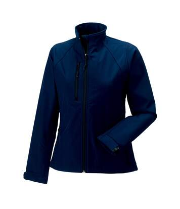 Jerzees Colours Ladies Water Resistant & Windproof Soft Shell Jacket (French Navy) - UTBC561