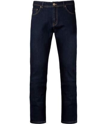 pantalon jean pour homme - K742 - bleu