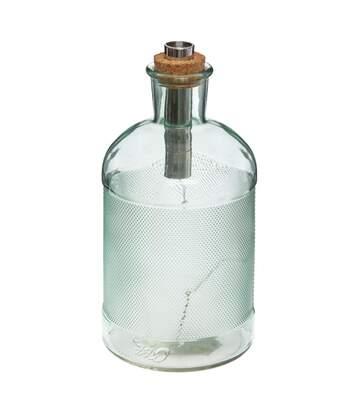 Atmosphera - Lampe Led  Bouteille en verre H 22 cm Vintage loft