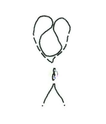 Collier Sautoir Femme avec Perles