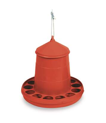 Gaun - Mangeoire - Poules (Rouge) (4kg) - UTTL1483