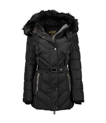 Parka Noire Femme Geographical Norway Becky