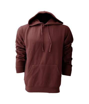 Russell Colour Mens Hooded Sweatshirt / Hoodie (Burgundy) - UTBC568
