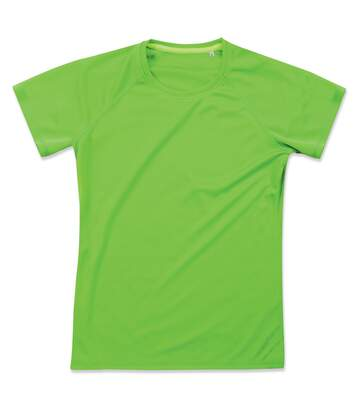 Stedman - T-Shirt Raglan - Hommes (Vert kiwi) - UTAB347
