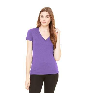 Bella - T-Shirt À Manches Courtes - Femme (Violet) - UTBC161
