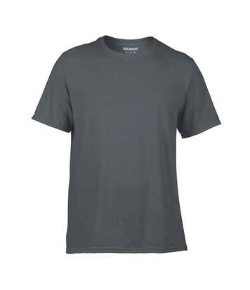 Gildan Mens Performance Core Short Sleeve T-Shirt (Charcoal) - UTPC2851