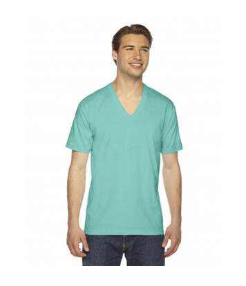 American Apparel - T-Shirt Col V - Homme (Bleu clair) - UTBC4007