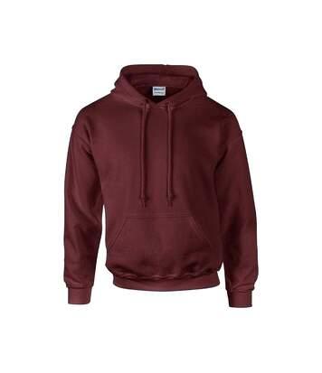 Gildan Heavyweight DryBlend Adult Unisex Hooded Sweatshirt Top / Hoodie (13 Colours) (Navy) - UTBC461
