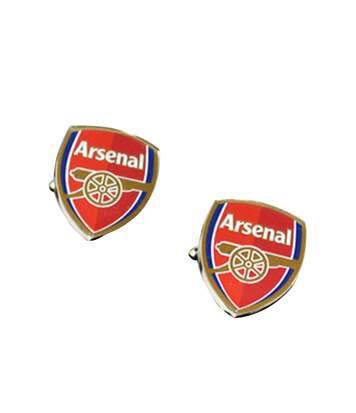 Arsenal Fc - Boutons De Manchette (Argent / rouge) - UTSG6668