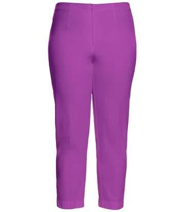 Pantalon, coupe étroite Sophie, Powerstretch, ceinture élastiquée