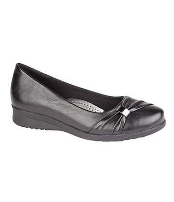 Boulevard - Chaussures À Semelle Compensée - Femme (Noir) - UTDF1019