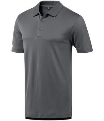 Polo performance golf ADIDAS manches courtes - homme - AD036 - gris foncé