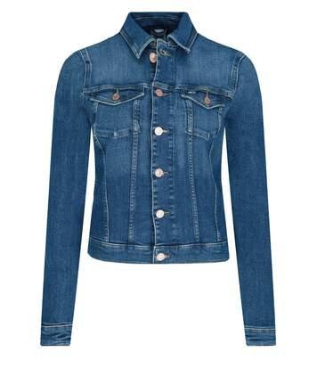 Blouson en jean court stretch   -  Tommy Jeans - Femme