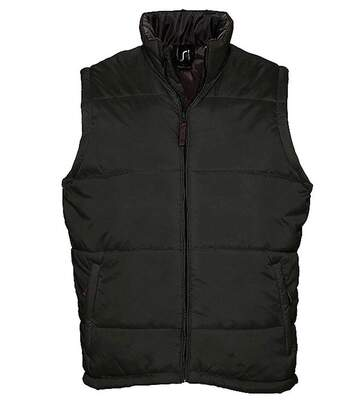 Doudoune veste sans manches matelassée - 44002 - noir