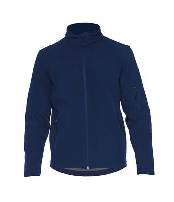 Gildan Mens Hammer Soft Shell Jacket (Navy) - UTPC3990