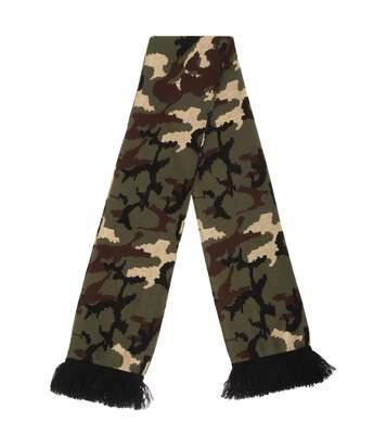 Floso - Echarpe À Motif Camouflage - Adulte Unisexe (Vert foncé) (Taille unique) - UTSK267