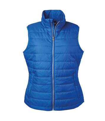 Bodywarmer gilet sans manches - JN1135 - bleu roi - Femme
