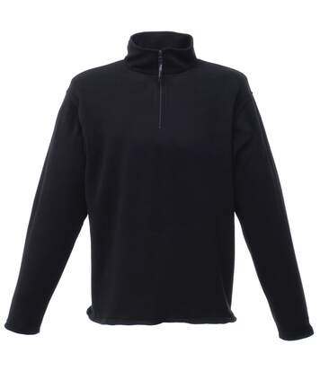 Regatta Mens 170 Series Anti-pill Zip Neck Micro Fleece Jacket (Black) - UTRW1207