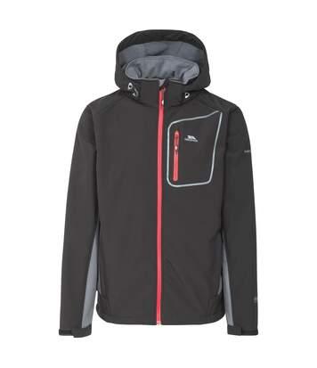 Trespass Mens Strathy II Softshell Jacket (Black) - UTTP3797