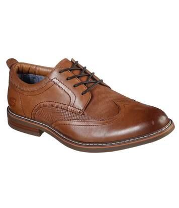 Skechers - Chaussures Bregman - Homme (Marron) - UTFS7121