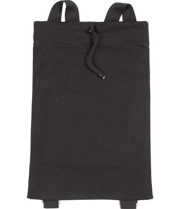 Sac à dos en coton canvas Natural / Black