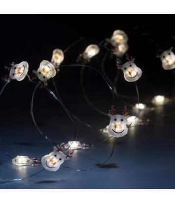 Feeric Christmas - Guirlande lumineuse Intérieur 20 personnages avec MicroLED sur 1.90 m