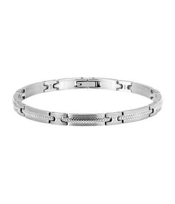 Bracelet DRIVER ROCHET Homme Argent - HB2460100A