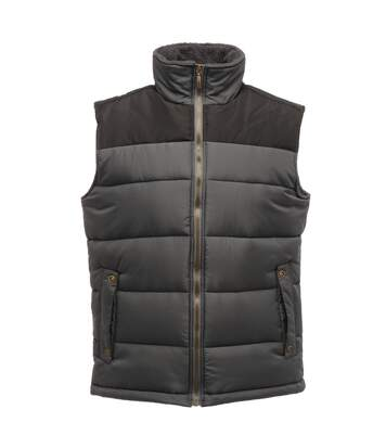 Regatta Mens Standout Altoona Insulated Bodywarmer Jacket (Seal Grey/Black) - UTRG1619