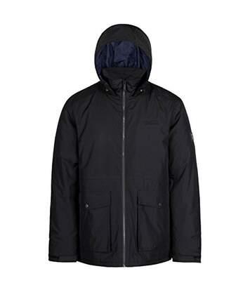 Regatta Mens Hebson Hooded Jacket (Black) - UTRG3679