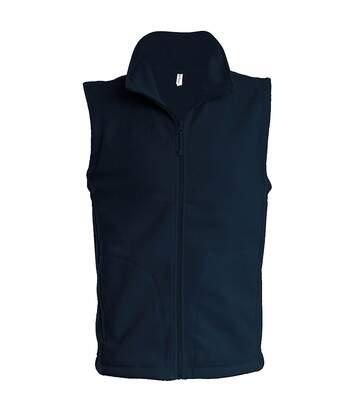 Kariban Mens Luca Fleece Gilet Jacket (Dark Grey) - UTRW739