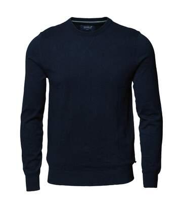 Nimbus Mens Lowell Knitted Cashmere Blend Jumper (Navy Melange) - UTRW5337