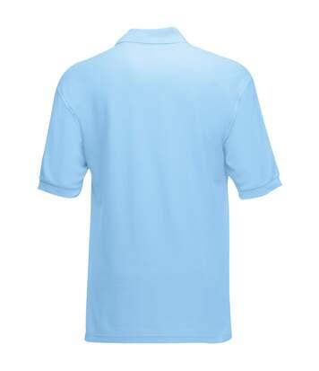 Fruit Of The Loom Mens 65/35 Pique Short Sleeve Polo Shirt (Sunflower) - UTBC388