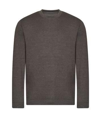 Awdis Sweat-shirt organique pour hommes (Charbon de bois) - UTPC4333