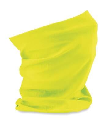 Echarpe tubulaire - tour de cou adulte - B900 - jaune fluo