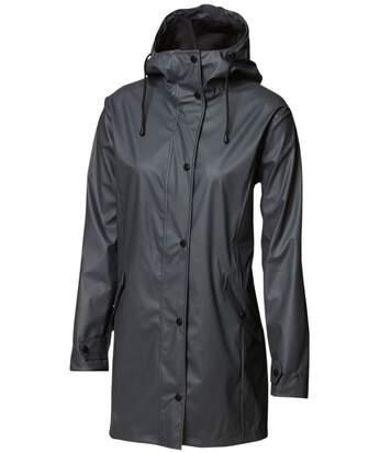 Veste de pluie - femme - NB61F - gris foncé