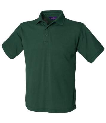 Henbury Mens Short Sleeved 65/35 Pique Polo Shirt (Ash) - UTRW625