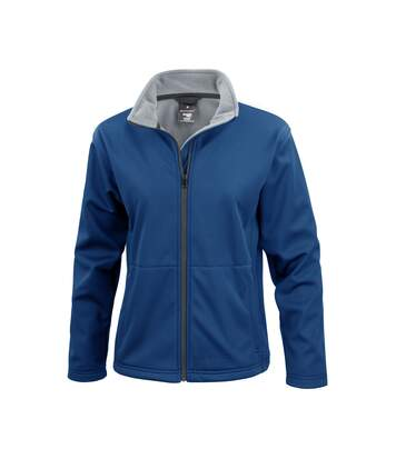 Result Core Ladies Soft Shell Jacket (Navy Blue) - UTBC903